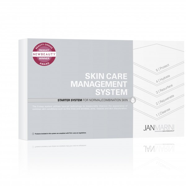 Skin Care Management System Normal Combination Travel